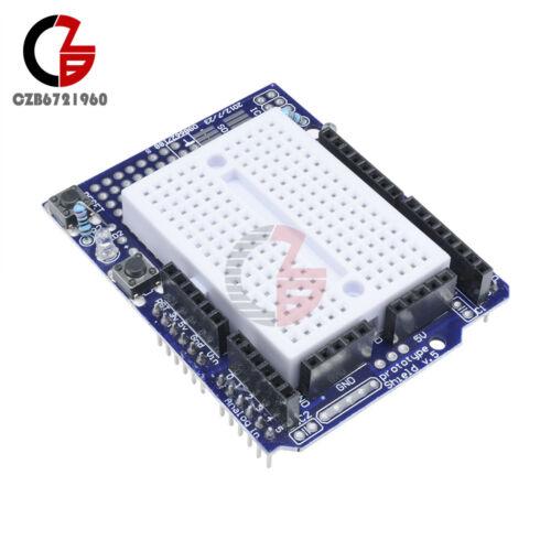 2PCS Atmega328P Prototyping Prototype Shield+Mini Breadboard For Arduino