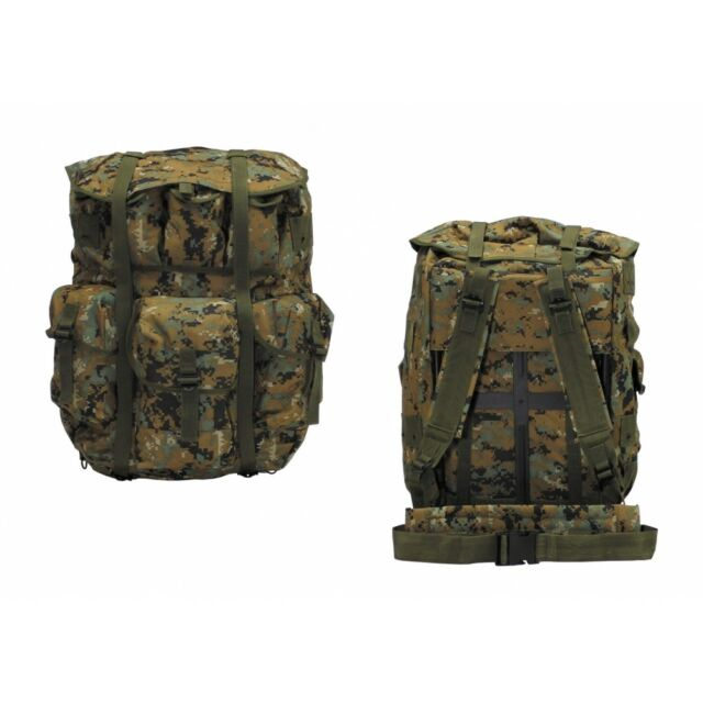 Original US Rucksack Alice Pack Large MARPAT Camo Metal Frame ...