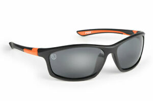 FOX NEW Polarized Black & Orange Sunglasses Carp Fishing - With Case - CSN043