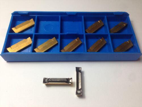 10 X ISCAR DGL 4003C-4D IC808 Cut Off Carbide Inserts Cnc Lathe tools DGFH DGN
