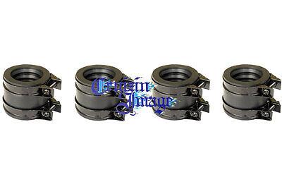 76-77 Honda CB550F Carb Intake Set 4 Intake & 8 Clamps 21-CB550FINBT