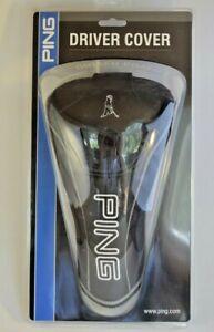 PING-Driver-Black-Golf-Club-Head-Cover-New-Mr-Ping