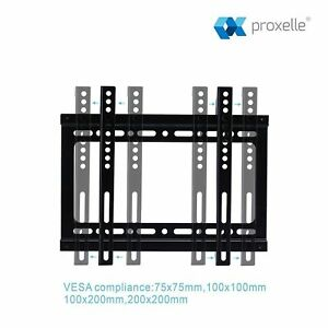 Articulating Flat Fixed Lcd Led Tv Wall Mount Bracket 19