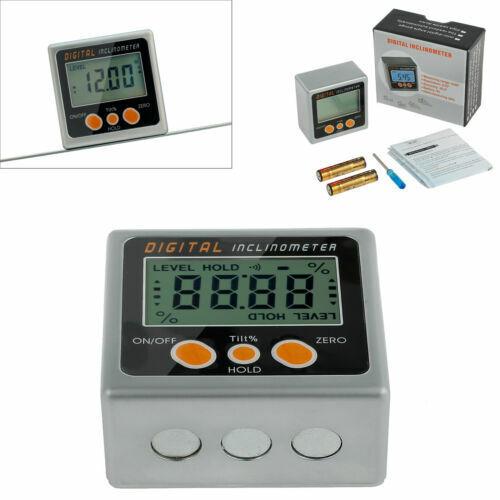 LCD Digital Bevel Box Gauge Winkelsucher Winkelmesser Neigungsmesser Magnetic