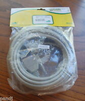 Cables Unlimited 25' Straight Thru Rs232 Cable Db25 M/m 25c