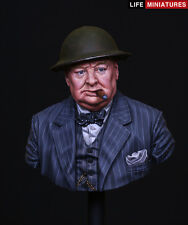 Life Miniatures Winston Churchill Never Surrender WW2 1/10th Bust Unpainted kit