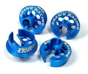 Team Associated ASC91814 B6.1//B6.1D Shock Caps /& Spring Cups