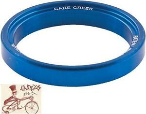 CANE-CREEK-110-SERIES-5MM-INTERLOK-BLUE-SPACER-BICYCLE-HEADSET-PART
