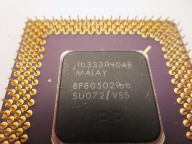 Intel Pentium 166 Non-MMX CPU    A80502166 SY016