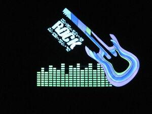 Fasching-EL-Equalizer-Gitarre-Rock-T-shirt-LED-Disco-sound-blink-t-shirt-Pulsz