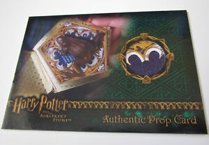 Harry-Potter-and-the-Sorcerer-039-s-Stone-Chocolate-Frog-Prop-Card-SS-VARIANT-127