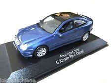 Mercedes  Benz   C Klasse Coupe  blau met. .. Minichamps 1:43  #4058