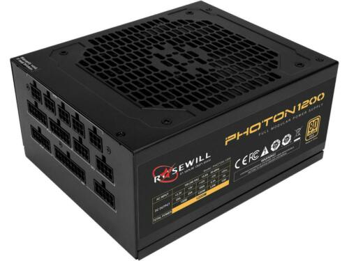80 PLUS Gold Cert Rosewill PHOTON Series 1200W Full Modular Gaming Power Supply