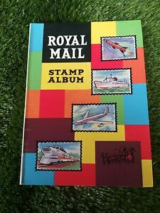 Royal-Mail-vintage-stamp-album-book-collection-worldwide