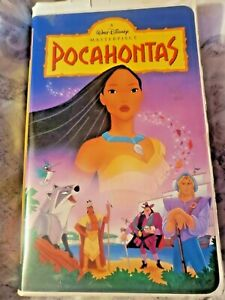 Pocahontas-VHS-1996-RARE-masterpiece-collection-5741