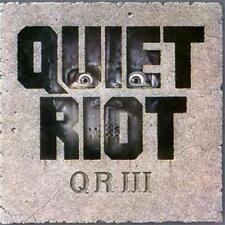 *NEW* CD Album Quiet Riot - Quiet Riot III  (Mini LP Style Card Case)