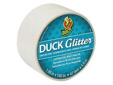 Colorate Duck Nastro Adesivo Gasperini Impermeabile nastro GLITTER WHITE