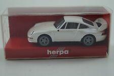Herpa Modellauto 1:87 H0 Porsche 911 Clubsport Straßenversion Nr. 032087