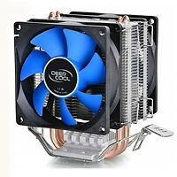 Deepcool 12cm Fan Cpu Cooler Heatsink Quiet For Intel Lga775/1156/1155 Amd Fm...