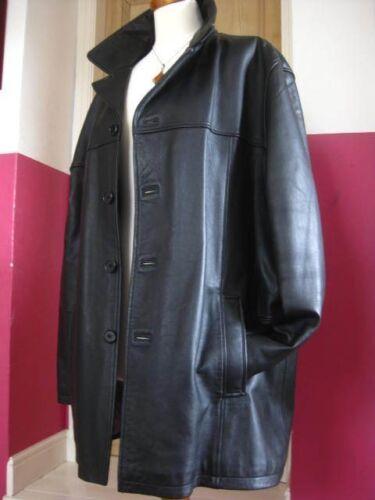 Cappotto di 40 s lunga 38 medio Sp cappotto taglia Mens M Bouncer pelle nera lunghezza fwHTI