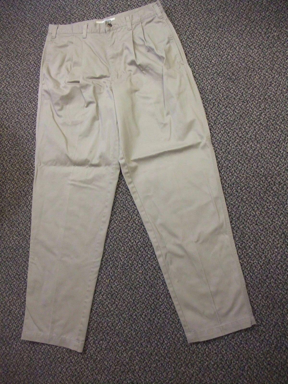 Vintage Cherokee Khakis Casual Dress Pants Men's Size 34x34