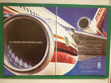 6/1990 PUB ROLLS-ROYCE AERO ENGINES TRENT MCDONNELL DOUGLAS MD-11 AIRLINER AD