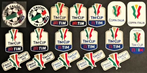 "TOPPE ufficiali varie stagioni /""COPPA ITALIA-TIM CUP/"" official patch mix seasons"