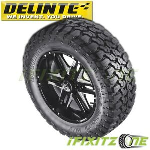 1-Delinte-DX9-Bandit-M-T-33X12-50R18LT-118Q-10PR-M-S-Off-Road-Mud-Tires