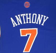 CARMELO ANTHONY KNICKS #7 NBA Basketball Road Replica Adidas Jersey ADULT SMALL