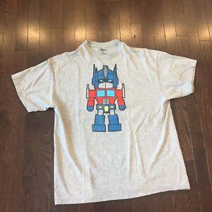 Transformers-Optimus-Prime-T-Shirt-Mens-Size-XL