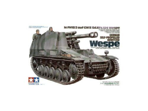 Tamiya German Self-Propelled Howitzer WESPE Kit Modellismo Militare