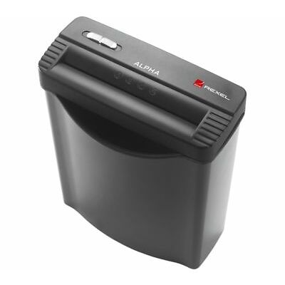 REXEL Alpha Strip Cut Paper Shredder - Currys