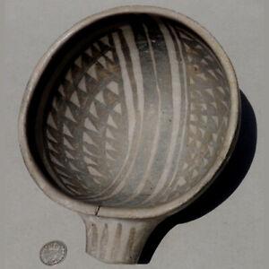 ancient native american terra cotta water scoop mimbres culture new mexico #1