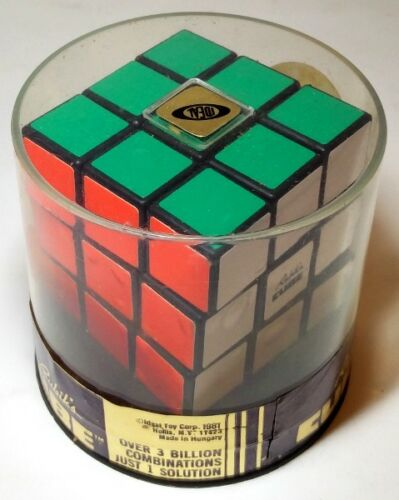 Geduldspiel UNOPENED original 3x3x3 Rubik's cube 3x3 new genuine mint factory sealed