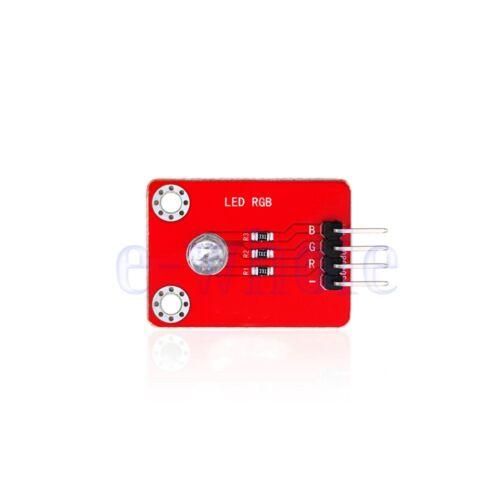 Keyes DIP RGB LED Sensor Modul Tafel Mit Löten Pad-Loch 4PIN Für Arduino GE