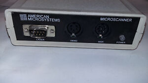 DRIVERS UPDATE: AMERICAN MICROSYSTEMS MICROSCANNER