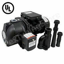 1 HP Convertible Shallow or Deep Well Jet Pump w/ Pressure Switch, 115/230V UL