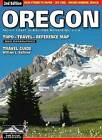 Oregon Topo-Travel-Reference Map: Travel Guide by William L Sullivan (Sheet map, folded, 2008)