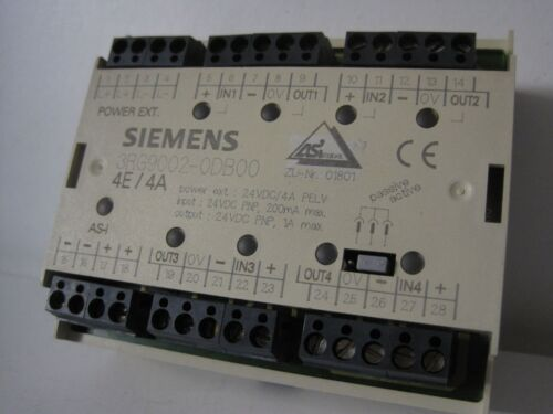 3RG9002-0DB00  3RG9002 0DB00 Siemens Simatic AS-I Modul F90 Digital