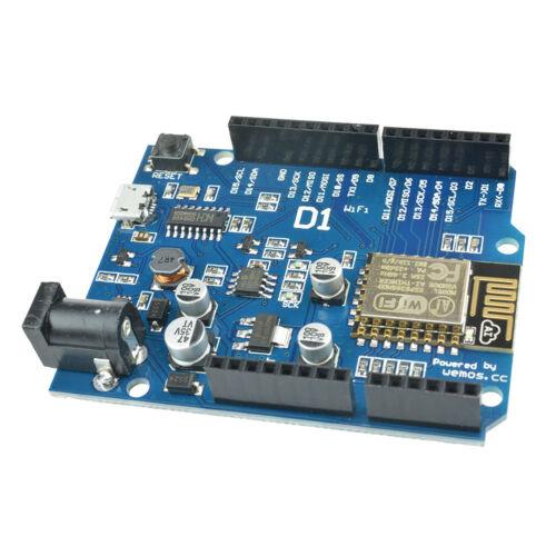 WeMos D1 CH340 ESP8266 ESP-12E CP2102 WiFi Development Board Shield Adapter B2SA