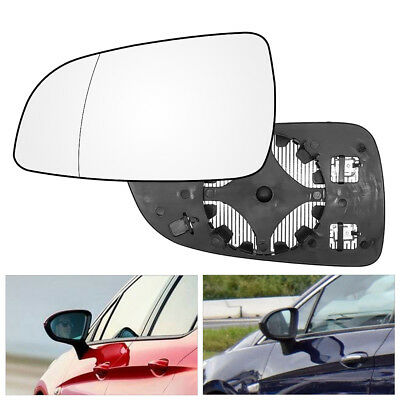 Left Passenger Side Heated Wing Mirror Glass Astra H 2004-2009