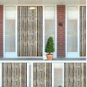 Bon Image Is Loading  Kingfisher Bamboo Effect Curtain Blinds Wooden Beaded Insects