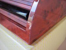 Visconti Nautilus Small roll-top 10-pen wooden desk case
