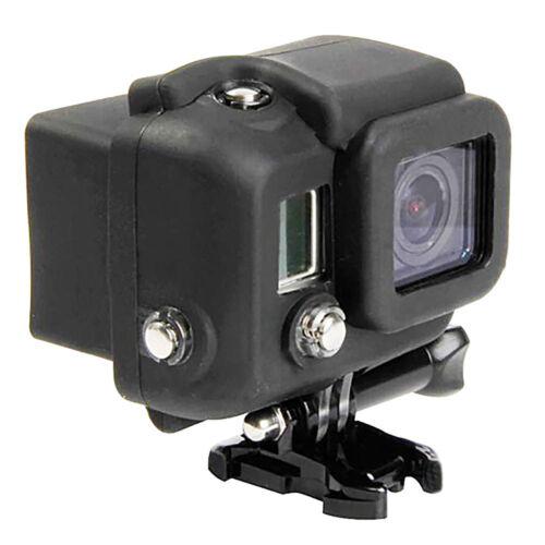 Funda Xaiox empalme protección Blickschutz GoPro 1 4 Hero en negro 2 3 HD