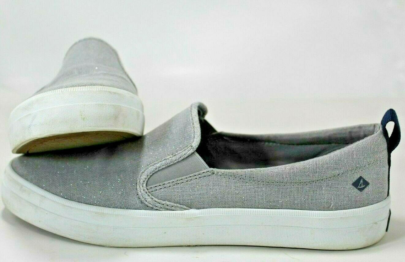 SPERRY WOMEN'S CREST TWIN GORE SLIP ON SNEAKERS / SHOES SIZE 9