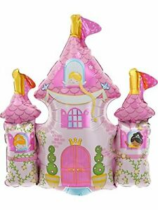 Princess-Castle-Mini-14-Inch-Air-Fill-Foil-Balloon