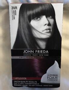 Image Is Loading John Frieda Radiant Red Precision Foam Colour 3vr