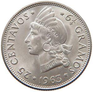 DOMINICAN-REPUBLIC-25-CENTAVOS-1963-TOP-s35-207
