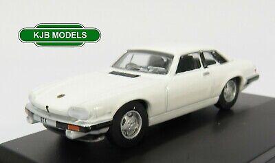 Brand New OXFORD Jaguar XJS /'The Saint/' 70s 1//76 Die-cast Car White