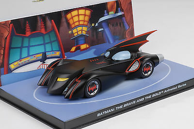 Movie Car Batman Batmobil The Brave and the Bold Animated Comics Modell 1:43